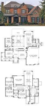 2 5 bedroom house plans traditional house plan with 3962 square and 5 bedrooms from
