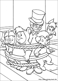 pan coloring picture