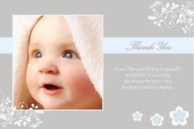 baptism thank you wording personalised boy christening thank you cards design 5 thank you