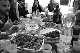 the thanksgiving table the italians u0027 first thanksgiving u2013 rome campus blog