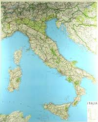 Italy On Map 48 Coated Waterfast Presentation Paper 36