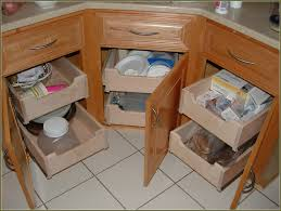Bathroom Vanity Pull Out Shelves by Roll Out Kitchen Cabinet Add Rollouts To Your Kitchen Cabinets