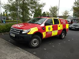 Ford Ranger Truck 4x4 - laois county ireland fire and rescue service 4x4 vehicle ford