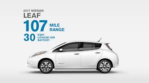nissan leaf real world range 2017 nissan leaf electric car 100 electric 100 fun