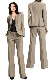 buy online one button office pant suit womens office pant suit