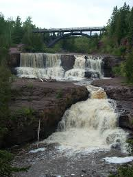 Tettegouche State Park Map by Top 10 Waterfalls In Minnesota