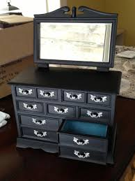 Jewelry Armoire With Lock And Key Furniture Locking Black Jewelry Armoire With Cheval Mirror And