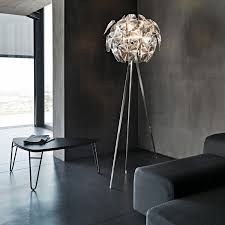 admirable tripod floor lamp with white iron frames combined bowl