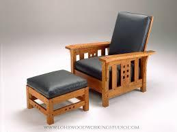 Ottoman With Chair Morris Chair Ottoman Lohr Woodworking Studio