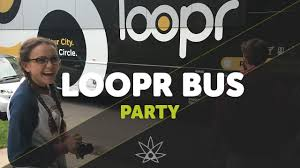 party bus logo loopr bus party 420 science club youtube