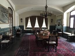the dining room in the main house where generations of family have