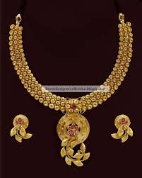 gold sets design designer indian antique gold necklace set in trendy design