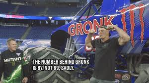monster truck show baltimore rob gronkowski got a monster truck and somehow it u0027s not called a