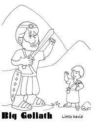 king david coloring page free download