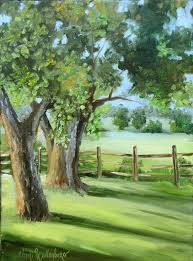 195 best paintings trees autumn images on draw