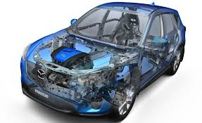 is mazda japanese mazda announces lightweight chassis and body designs skyactiv is