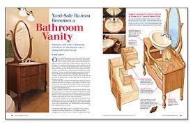 Sale Bathroom Vanity by Yard Sale Bureau Becomes A Bathroom Vanity Fine Homebuilding