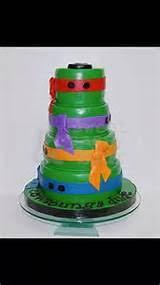 mini ninja turtle cake ideas pinterest 4308