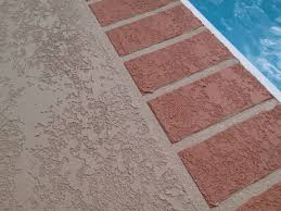 new deck coating with brick pattern sider crete inc sider