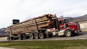 trade trucks kenworth b c logging trucks 05 different styles of axle configurations