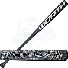 worth softball bat wood composite slowpitch softball bat usssa sbmwmb