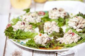 turkey salad with grapes apples walnuts healthy low calorie
