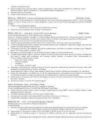 Mba Resume Examples by Program Manager Resume Examples Of Project Management Resumes