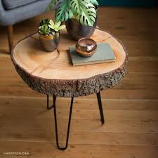 Making Wooden End Table by Best 25 Log Coffee Table Ideas On Pinterest Log Table Wood