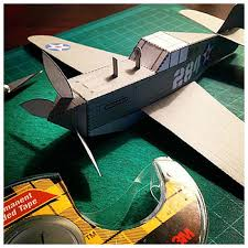 3d paper model airplanes print outs paper foldables paper craft toys by bryan