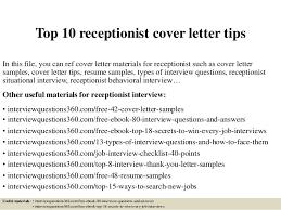 receptionist cover letter front desk cover letter sle jobsxs