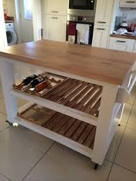 pine freestanding kitchen island handmade butchers block unit ebay