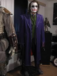 Heath Ledger Joker Halloween Costume Custom Size Dark Knight Heath Ledger Joker Statue Archive