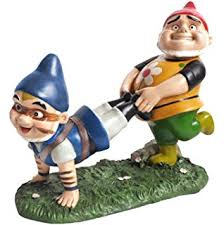 dig pammy gnome garden statue 12 5 by 5 75 inch