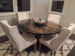 Glass Top Pedestal Dining Tables Furniture 40 Round Pedestal Table Round Pedestal Table Round