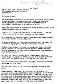open letter to congress u2013 2007 paul j andert