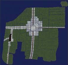Tenochtitlan Map 1 1 Scale Tenochtitlan 1500ad Minecraft Project