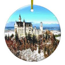 neuschwanstein castle ornaments keepsake ornaments zazzle