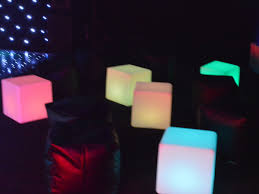 led furniture hire led posuer table rentals animated bars for