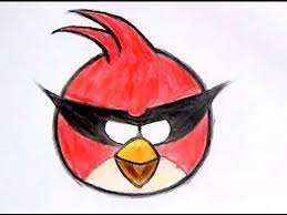draw big red bird angry birds space 1 reup