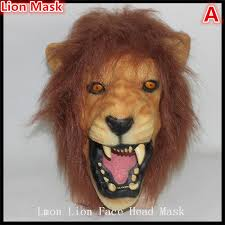lion mask hot 100 hair lion masks animal
