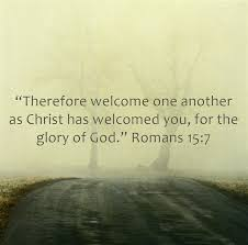 top 7 bible verses about welcoming other
