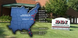 Jacksonville Map Jacksonville Fl Ddi Trucking