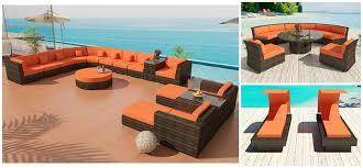 Bellagio Sectional Sofa  Cassandra Dining - Round outdoor sofa 2