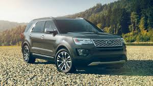 what colors does the 2017 ford explorer come in