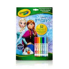 crayola disney frozen coloring u0026 activity pad
