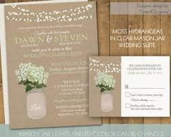 jar wedding invitations 31 country wedding invitations jars vizio wedding