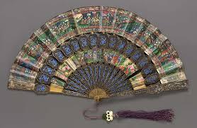 folding fan folding fan museum of arts boston