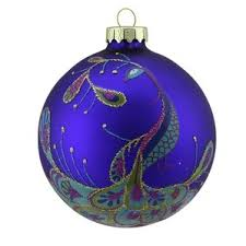 peacock ornaments wayfair