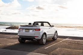 jeep convertible 2017 2017 range rover evoque convertible first test motor trend