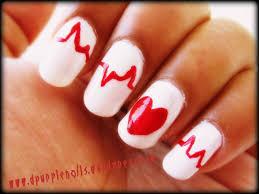 nail art ideas hearts best nail 2017 valentines day nail art